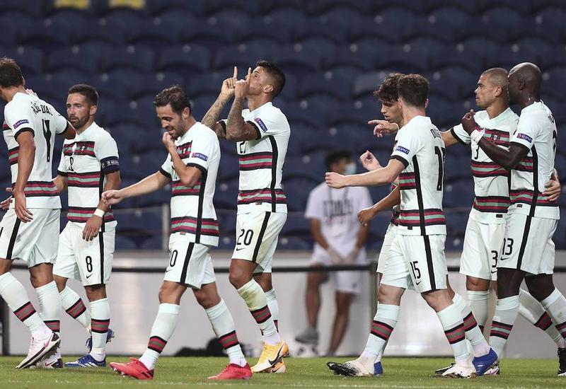 Сборная Португалии разгромила команду Хорватии в матче Лиги наций