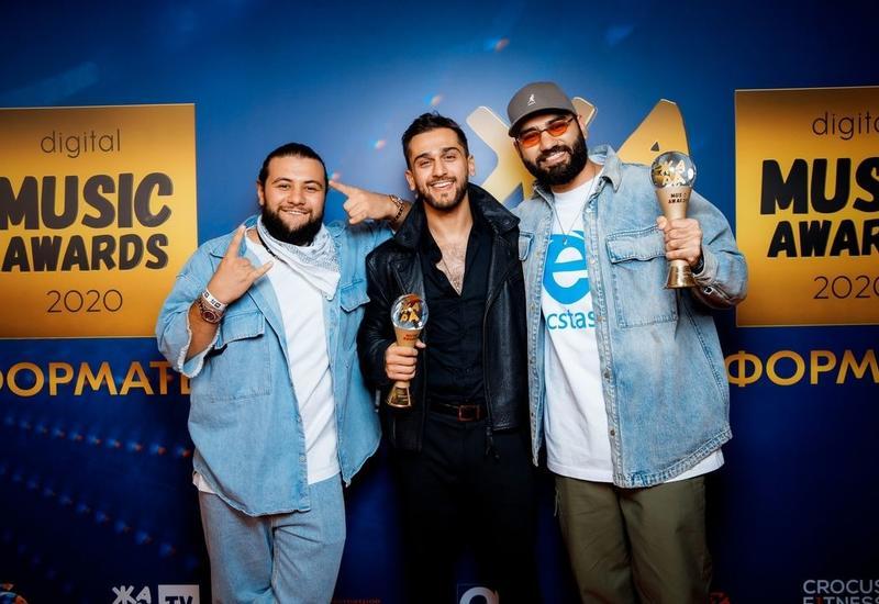 "Jony и HammAli & Navai стали победителями премии ""Жара Music Awards"""