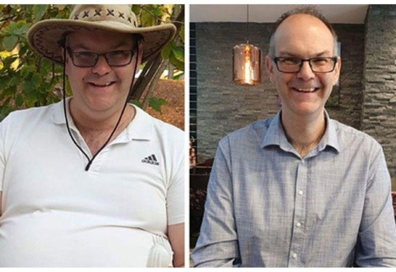 Мужчина похудел почти на 60 кг за 15 месяцев