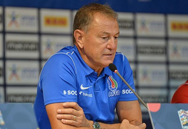 Джанни Де Бьязи – о своей дебютной победе со сборной Азербайджана