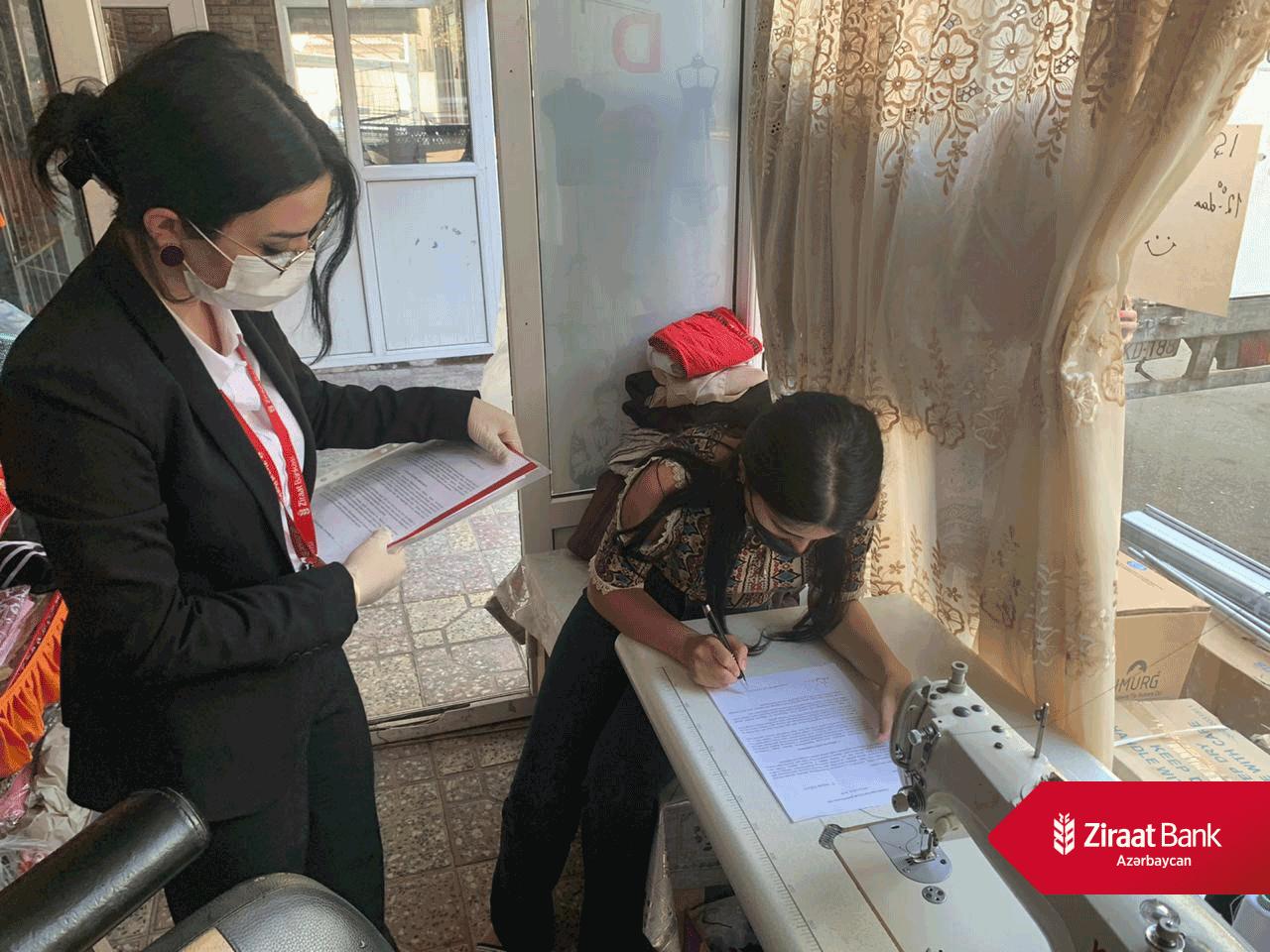 """""""Sabahın Sahibkarları""""-na """"Ziraat Bank Azərbaycan"""" dəstəyi davam edir"""