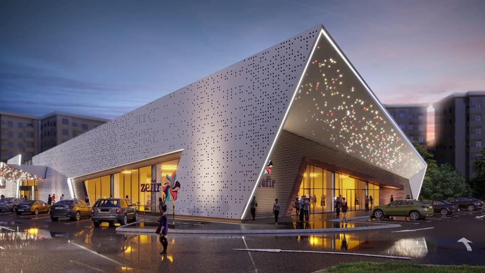 В Баку строится новый молл