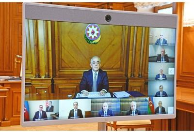 Состоялось первое заседание Экономического совета Азербайджана - ВИДЕО