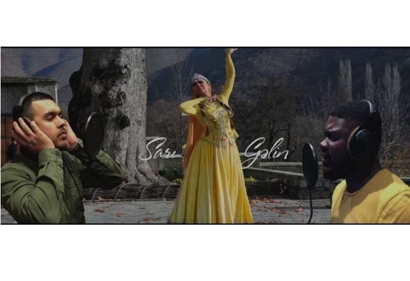 """Африканский певец исполнил """"Сары гялин"""" на азербайджанском языке"""