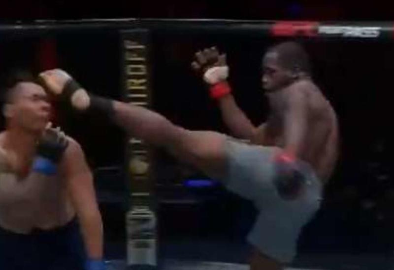Боец MMA нокаутировал соперника и напугал главу UFC
