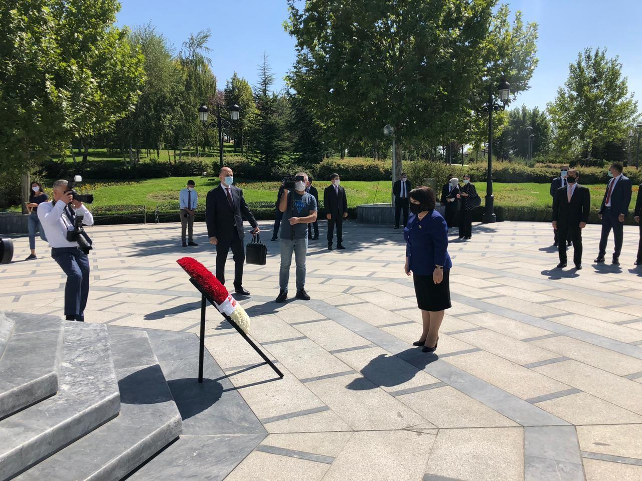 Парламентская делегация Азербайджана посетила парк Гейдара Алиева в Анкаре