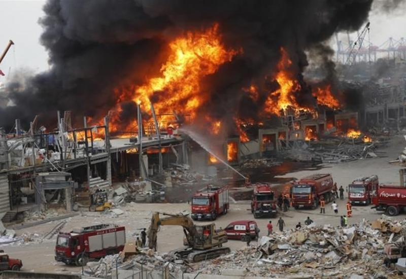 Реконструкция Бейрута после взрыва обойдется в $2,5 млрд