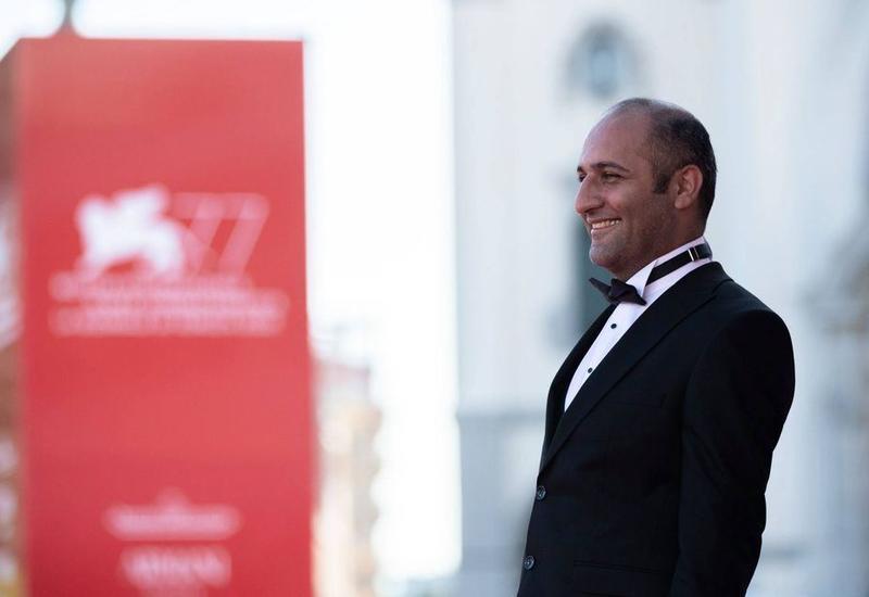 Азербайджанские кинематографисты на красной дорожке Венецианского кинофестиваля