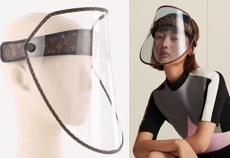 Louis Vuitton выпустил защитные щиты для лица