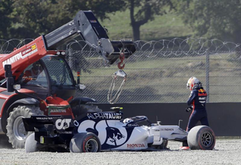 Гран-при «Формулы-1» остановили из-за двух аварий