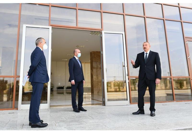 Президент Ильхам Алиев: Мы должны, насколько это возможно, обеспечивать внутренний спрос за счет местной продукции