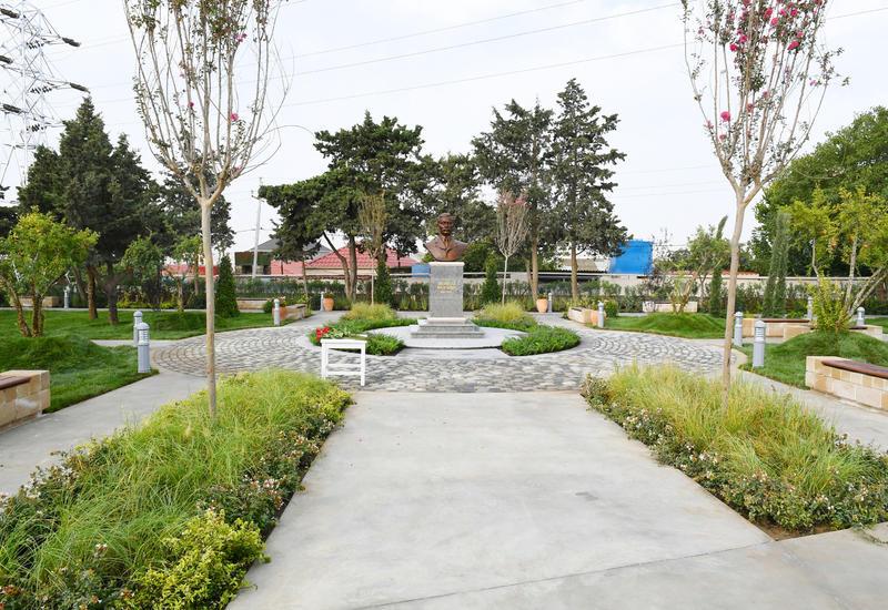 Правнучка Муртузы Мухтарова и жители Амирджана выразили признательность за новый парк