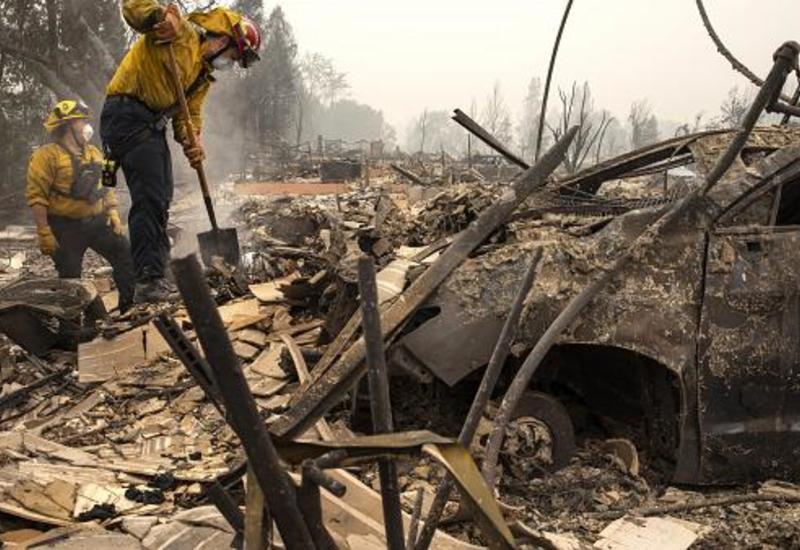 Западное побережье США задыхается от дыма лесных пожаров
