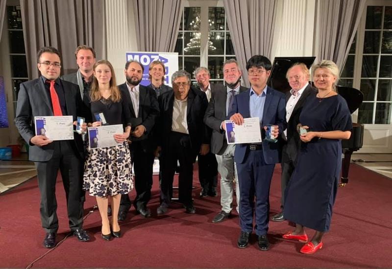 Азербайджанец стал победителем на Международном конкурсе в Германии