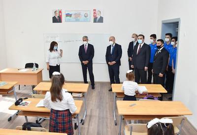 Фондом Гейдара Алиева сдаются в эксплуатацию 62 учебных заведения. В Гяндже, Самухе и Уджаре состоялось открытие построенных и реконструированных учебных заведений - ФОТО