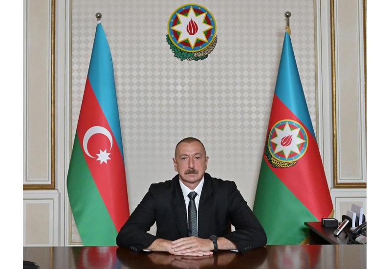 Президент Ильхам Алиев обратился к учителям, студентам и учащимся по случаю начала нового учебного года