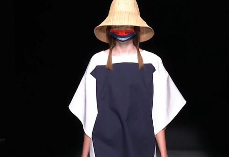 Мадридская неделя моды: маска как модный аксессуар