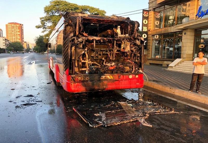 В связи со сгоревшими автобусами в Баку приедут специалисты из Франции