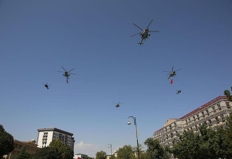 ВВС Азербайджана и Турции совершили совместные полеты над Нахчываном