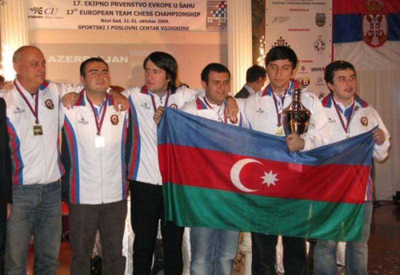 Азербайджанские шахматисты победили в турнире, обыграв Армению
