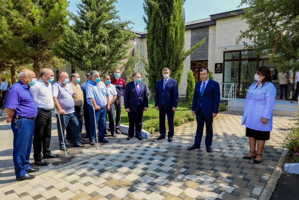 В Ширване состоялось открытие Реабилитационного центра
