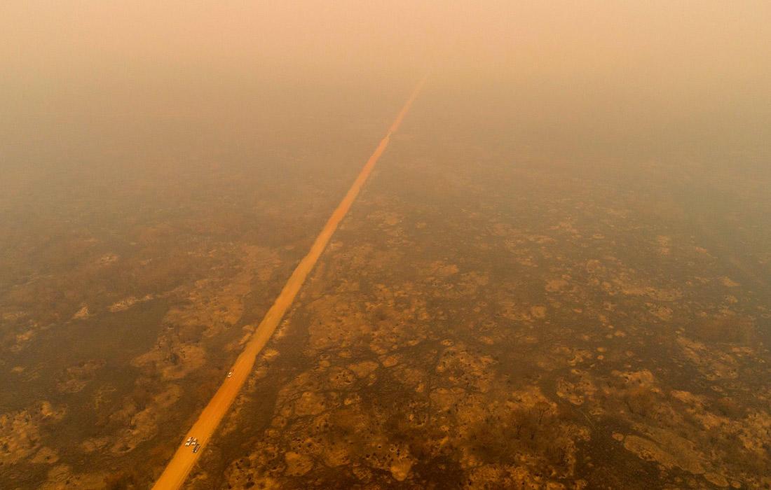 Разрушительные пожары в Бразилии