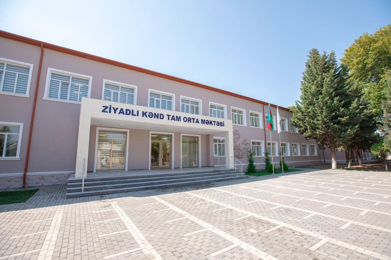 При поддержке Фонда Гейдара Алиева в эксплуатацию сдаются 62 образовательных учреждения