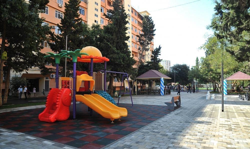 В рамках проекта «Наш двор» в Баку благоустроен очередной двор