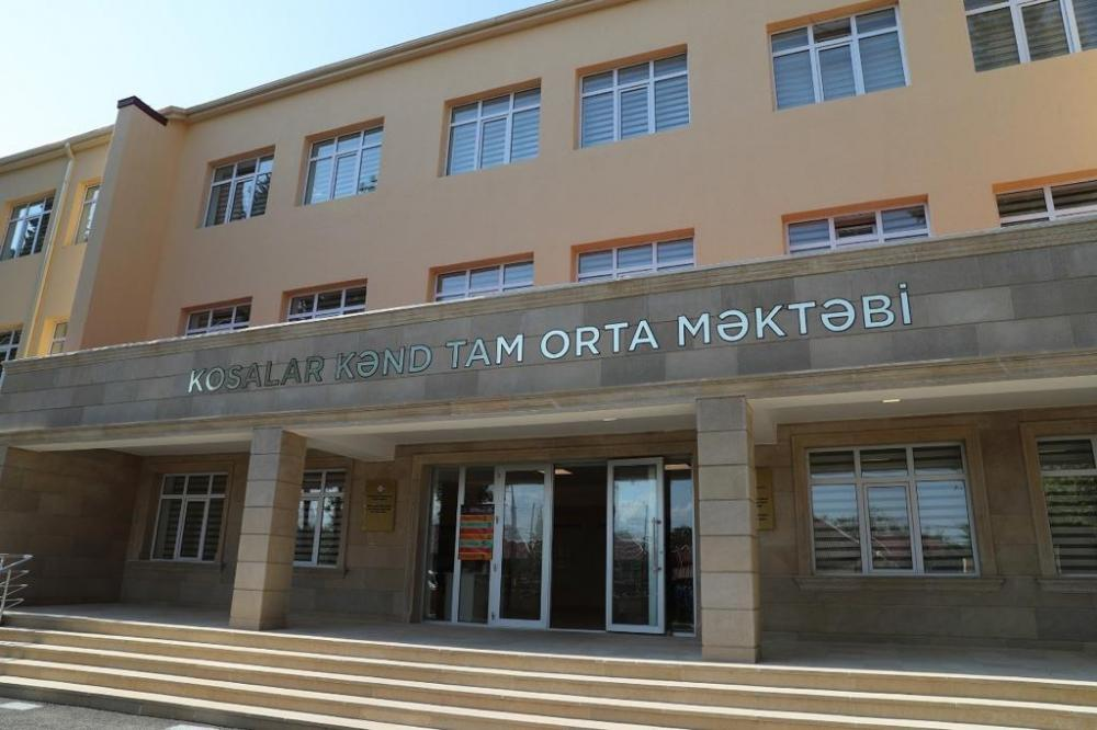 В Товузском, Газахском, Сальянском и Нефтчалинском районах состоялось открытие учебных заведений, построенных и отремонтированных Фондом Гейдара Алиева