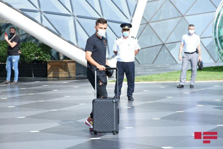 «Галатасарай» приехал в Баку