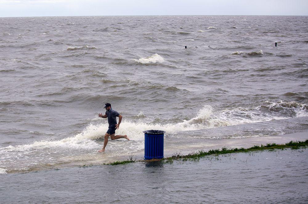 Шторм «Салли» в Мексиканском заливе