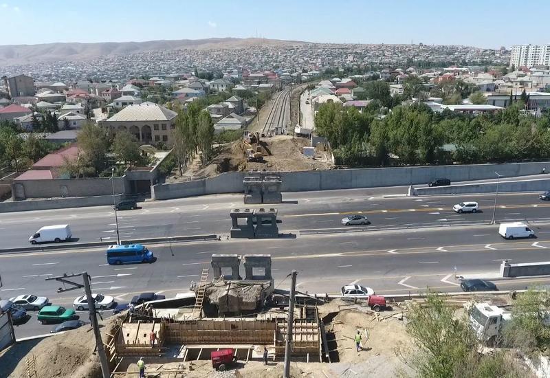 Названа дата завершения строительства ж/д моста на трассе Баку-Сумгайыт