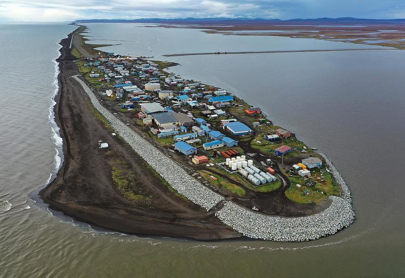 В США поселок уходит под воду