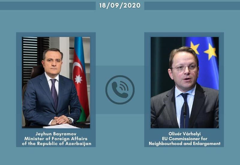 Джейхун Байрамов и комиссар ЕС обсудили важность завершения нового соглашения