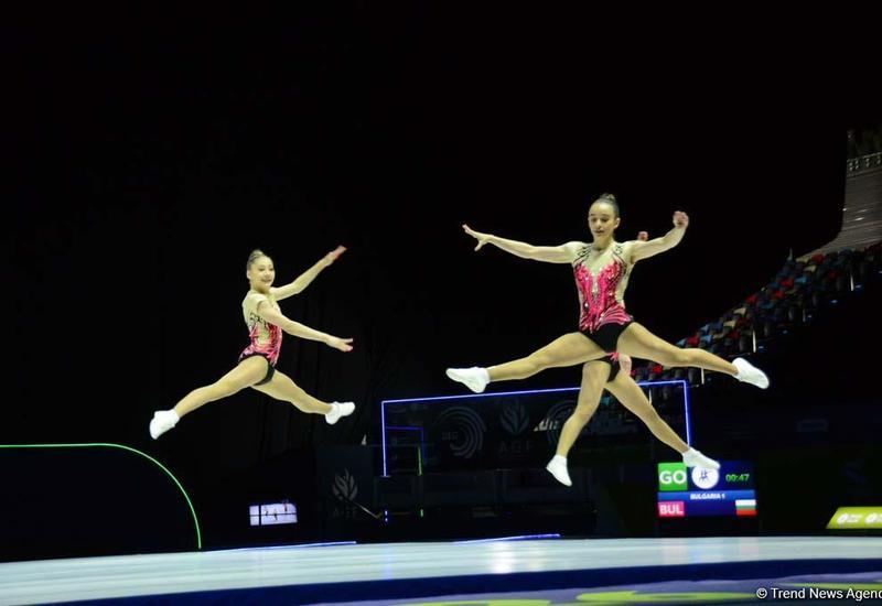 В Баку пройдут Кубки мира по трем гимнастическим дисциплинам