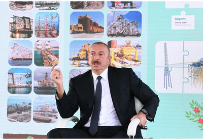 Президент Ильхам Алиев: Интерес к нефтяному потенциалу Азербайджана в мире не уменьшается, наоборот, растет