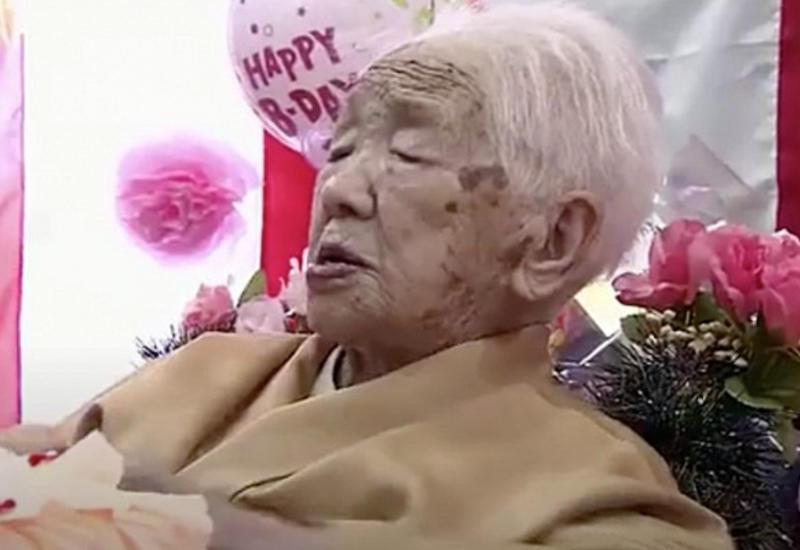Самая пожилая жительница мира установила рекорд долголетия в Японии