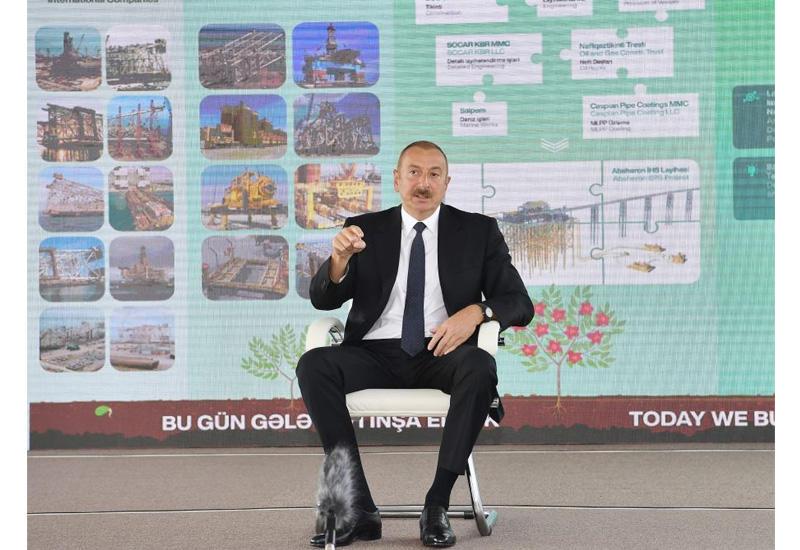Prezident İlham Əliyev: Bu gün Ermənistanda söz sahibi Sorosdur