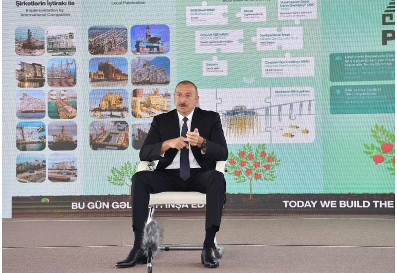 Президент Ильхам Алиев: Если бы мы в то время были независимой страной, то Азербайджан мог стать богатейшей страной мира