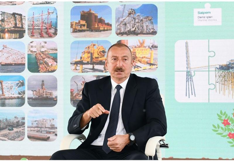Президент Ильхам Алиев - о нагорно-карабахском урегулировании: Я негативно расцениваю нынешнее состояние переговоров и считаю, что азербайджанский народ полностью согласен со мной
