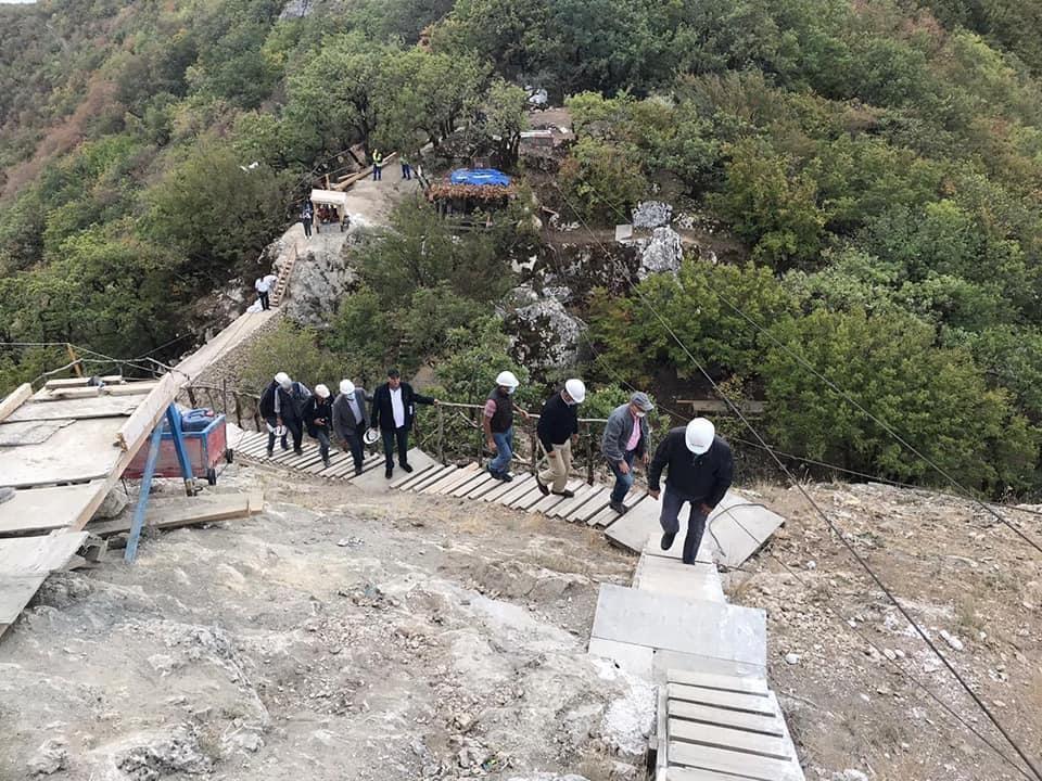 """К памятнику """"Чыраггала"""" в Шабране через лес проложена тропа для туристов"""