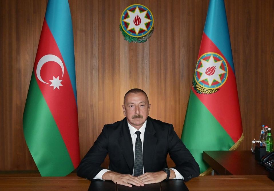 Президент Ильхам Алиев принял участие в посвященном 75-летию ООН Заседании высокого уровня в рамках 75-й Генассамблеи организации