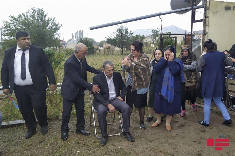 В Товузе проходит церемония прощания с азербайджанским шехидом