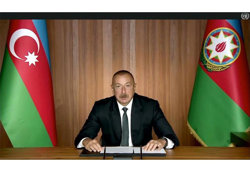 Президент Ильхам Алиев: Армения преднамеренно берет на прицел мирных жителей и совершает провокации вдоль линии соприкосновения войск и армяно-азербайджанской границы