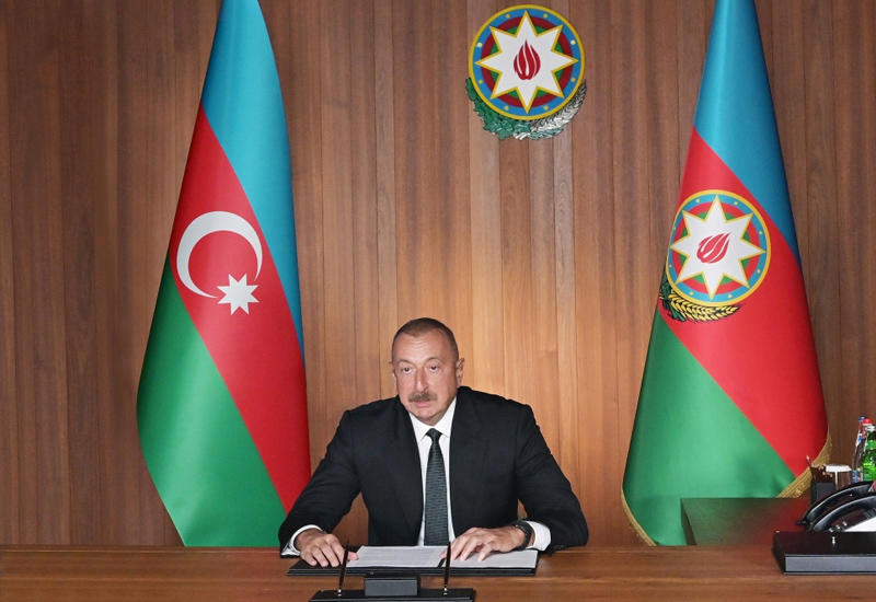 Президент Ильхам Алиев: Прославление нацизма – государственная политика Армении