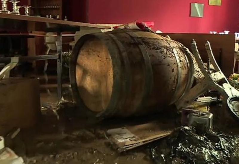 Ливни и наводнения во Франции, есть пропавшие без вести