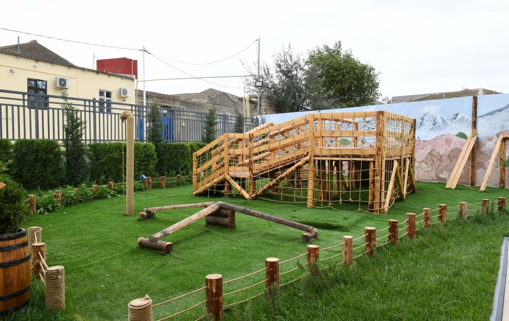 Первый вице-президент Мехрибан Алиева приняла участие в открытии нового здания детского сада № 212 в поселке Шаган