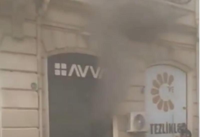 """На """"Торговой"""" горит магазин"""