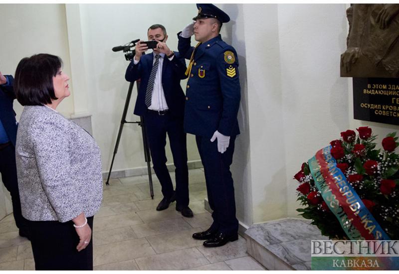 Спикер парламента Азербайджана начала визит в Россию