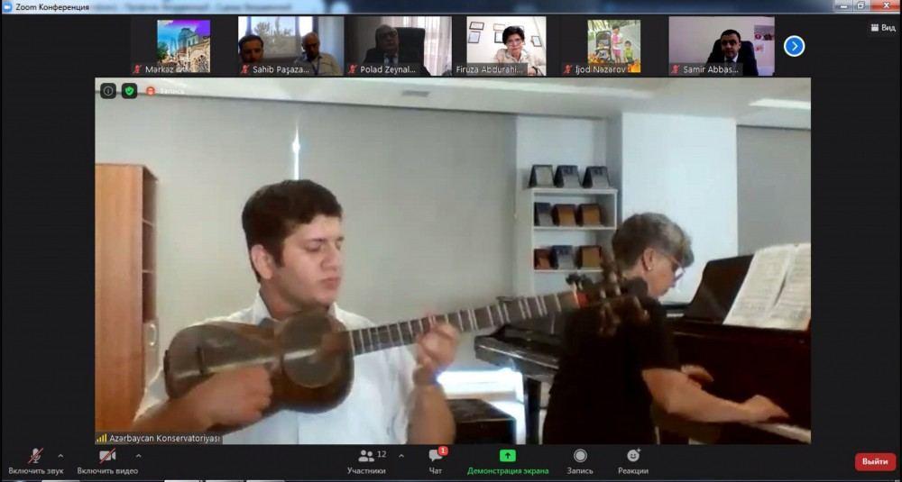 Азербайджан и Узбекистан выбрали лучших исполнителей на народных струнных музыкальных инструментах